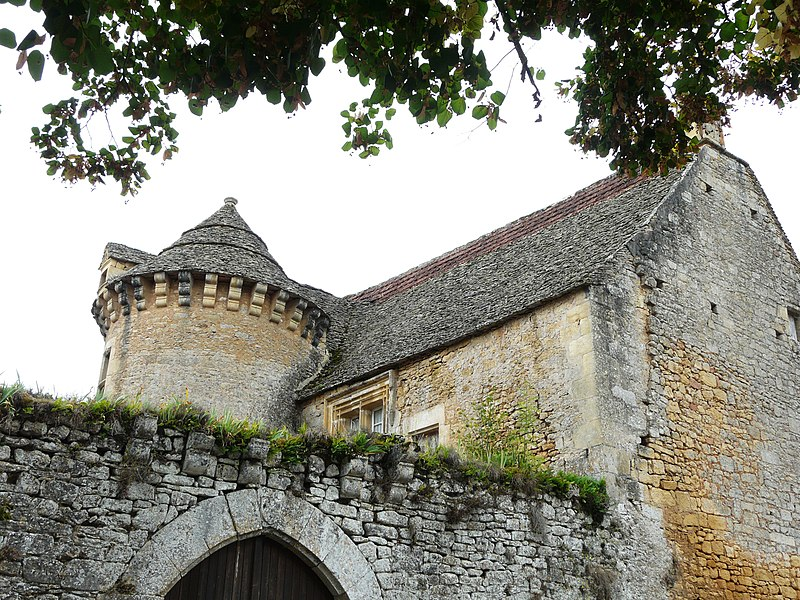 Photo du Monument Historique Manoir situé à Sergeac