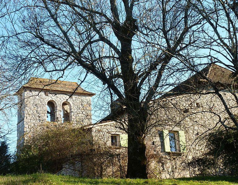 Photo du Monument Historique Eglise Saint-Michel de Lestignac et cimetière situé à Sigoulès