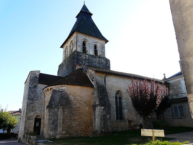 Photo du Monument Historique Eglise Saint-Germain d'Auxerre situé à Sorges
