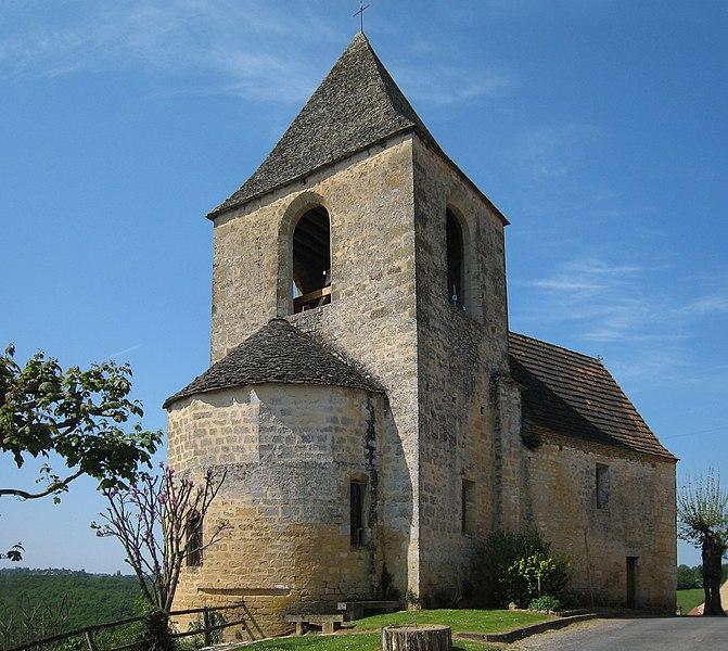 Photo du Monument Historique Eglise Saint-Cybard situé à Tamniès