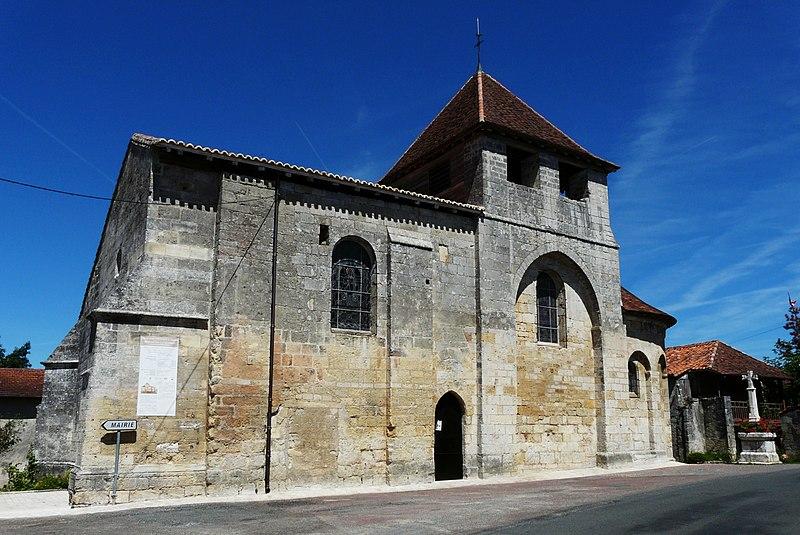 Photo du Monument Historique Eglise Saint-Pantaléon situé à Valeuil
