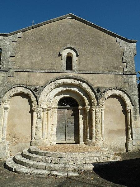 Photo du Monument Historique Eglise Notre-Dame de l'Assomption situé à Vendoire