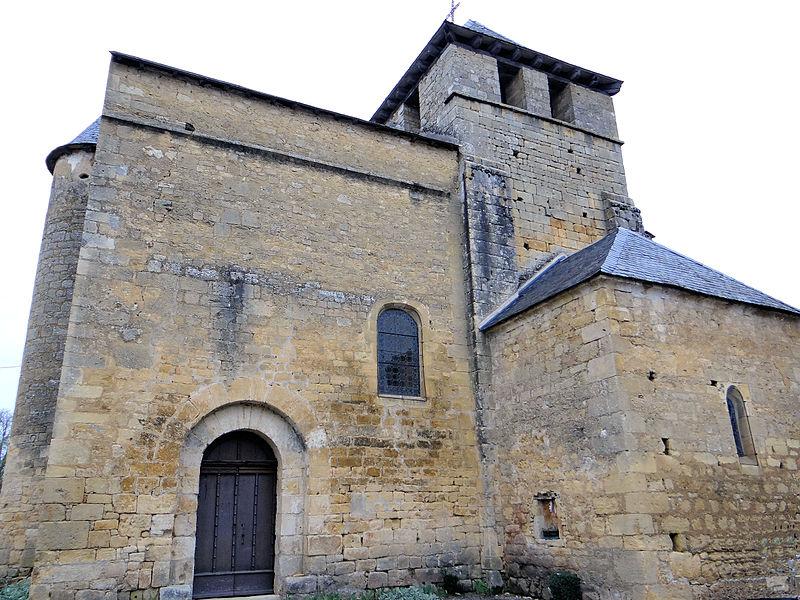 Photo du Monument Historique Eglise Saint-Pierre-ès-Liens situé à Veyrignac