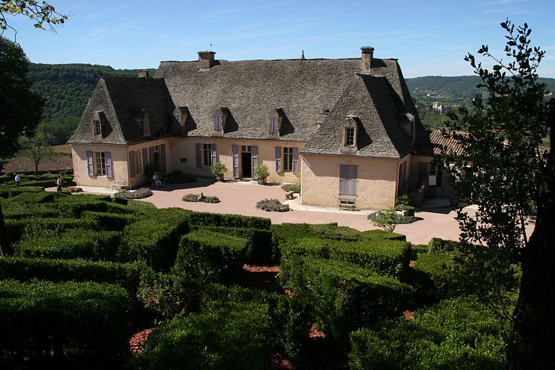 Photo du Monument Historique Château de Marqueyssac situé à Vézac