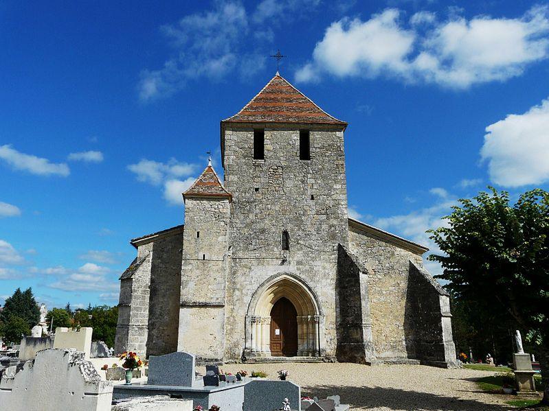 Photo du Monument Historique Eglise Notre-Dame de l'Assomption situé à Villefranche-de-Lonchat