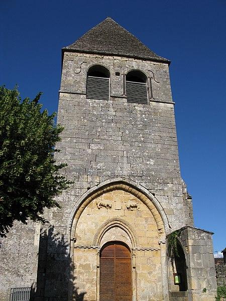 Photo du Monument Historique Eglise Saint-Martin situé à Vitrac