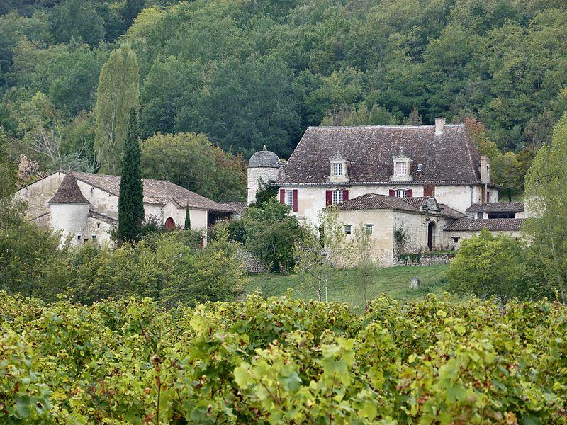 Photo du Monument Historique Château de Fauga situé à Port-Sainte-Foy-et-Ponchapt