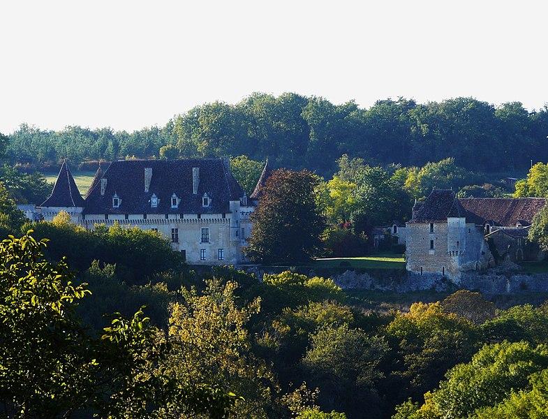 Photo du Monument Historique Château de la Gaubertie situé à Saint-Martin-des-Combes