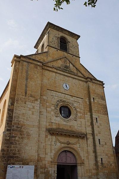Photo du Monument Historique Eglise Saint-Pierre-ès-Liens situé à Sainte-Alvère