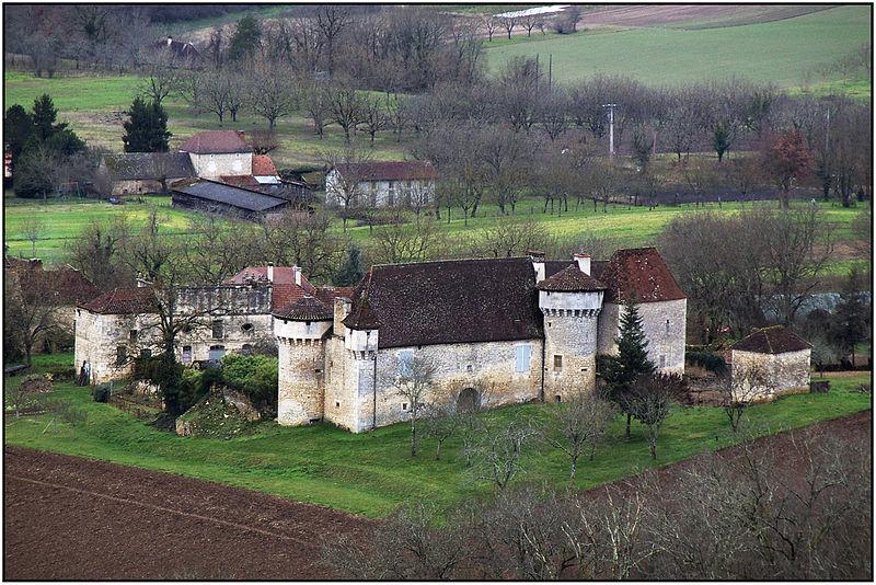 Photo du Monument Historique Château du Saulou situé à Cazoulès