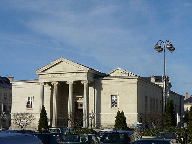 Photo du Monument Historique Palais de Justice situé à Périgueux