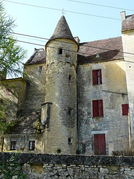 Photo du Monument Historique Château de Campagnac situé à Sarlat-la-Canéda