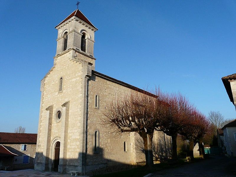 Photo du Monument Historique Eglise Saint-Méard situé à Saint-Méard-de-Drône
