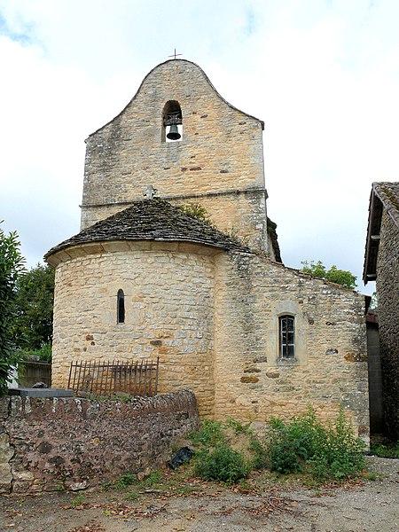 Photo du Monument Historique Eglise Saint-Etienne des Landes situé à Villefranche-du-Périgord
