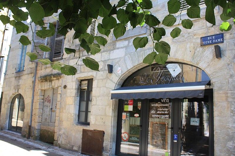 Photo du Monument Historique Maison médiévale situé à Périgueux