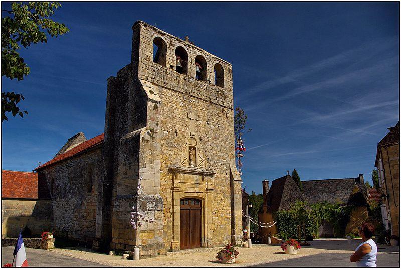 Photo du Monument Historique Eglise Saint-Eutrope situé à Meyrals