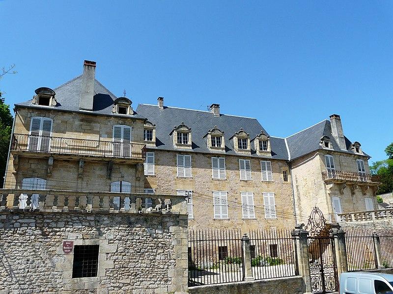 Photo du Monument Historique Hôtel de Bouilhac situé à Montignac