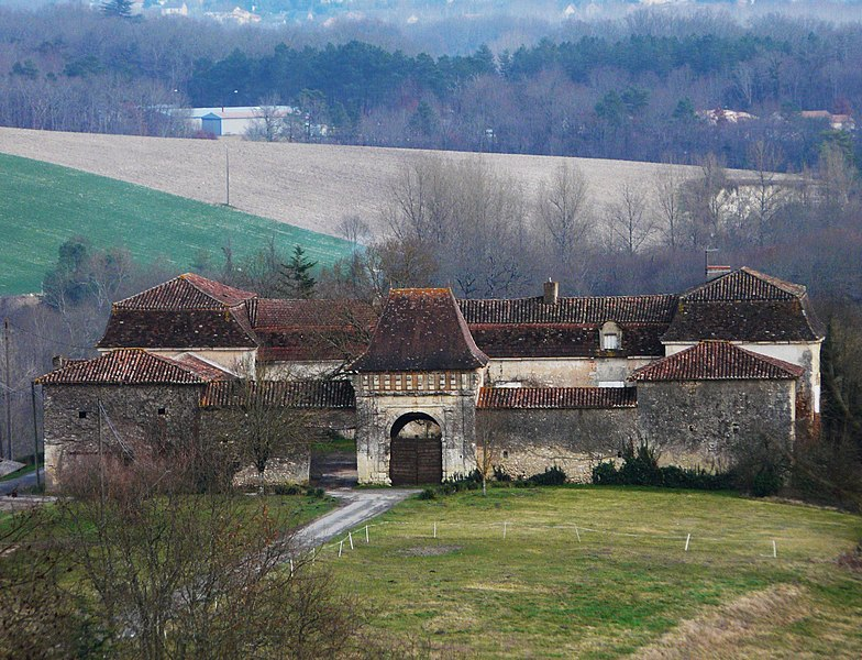Photo du Monument Historique Chartreuse de Fareyroux situé à Saint-Astier