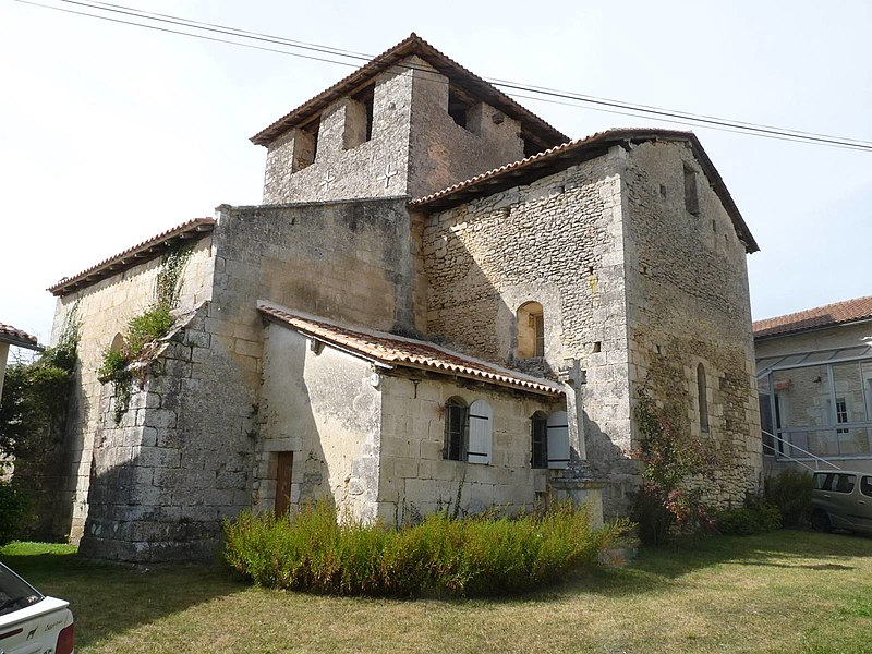 Photo du Monument Historique Eglise Saint-Pierre-Es-Liens situé à Gout-Rossignol