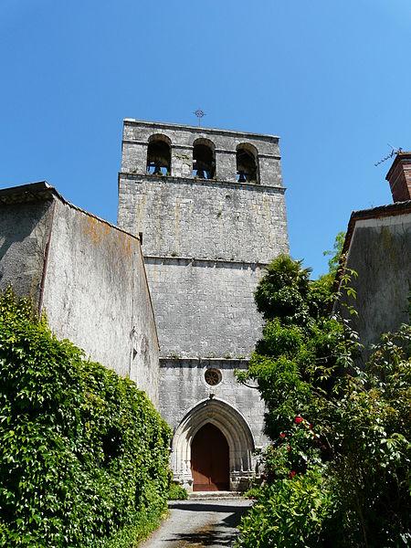 Photo du Monument Historique Eglise Saint-Laurent et Saint-Martin situé à Conne-de-Labarde