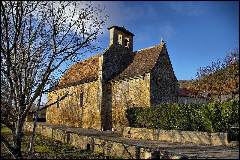 Photo du Monument Historique Eglise Saint-Vincent situé à Saint-Vincent-de-Cosse