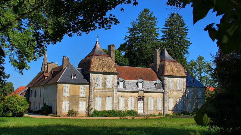 Photo du Monument Historique Château de Fertans situé à Amancey