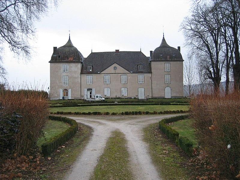 Photo du Monument Historique Château de Roche situé à Arc-et-Senans