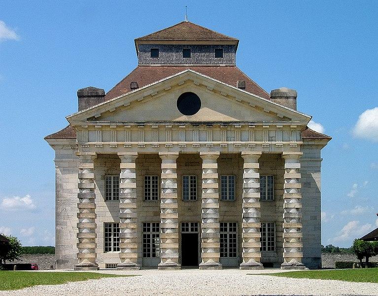 Photo du Monument Historique Ancienne saline royale, actuellement Fondation Claude-Nicolas Ledoux situé à Arc-et-Senans