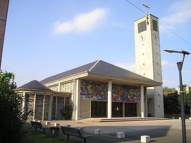 Photo du Monument Historique Eglise du Sacré-Coeur situé à Audincourt