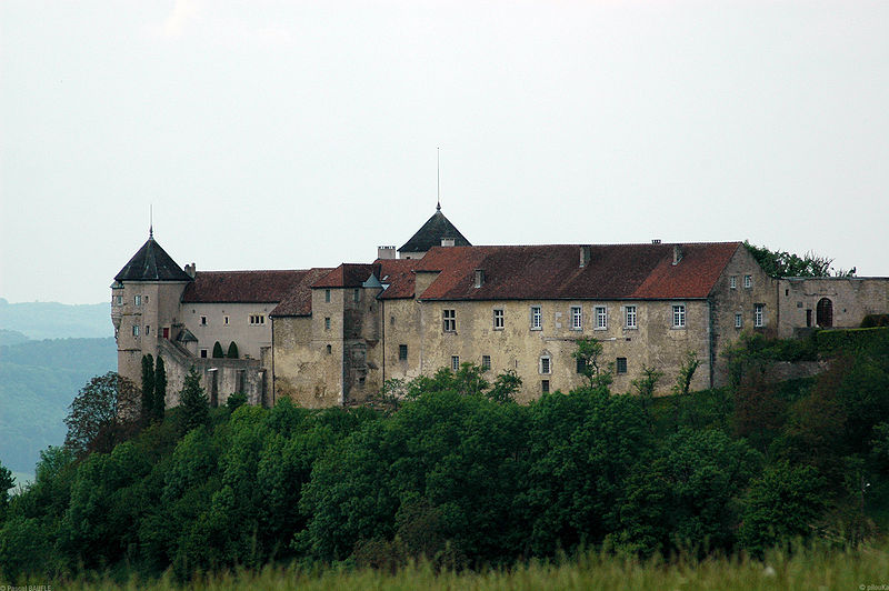 Photo du Monument Historique Château (ensemble du) situé à Belvoir
