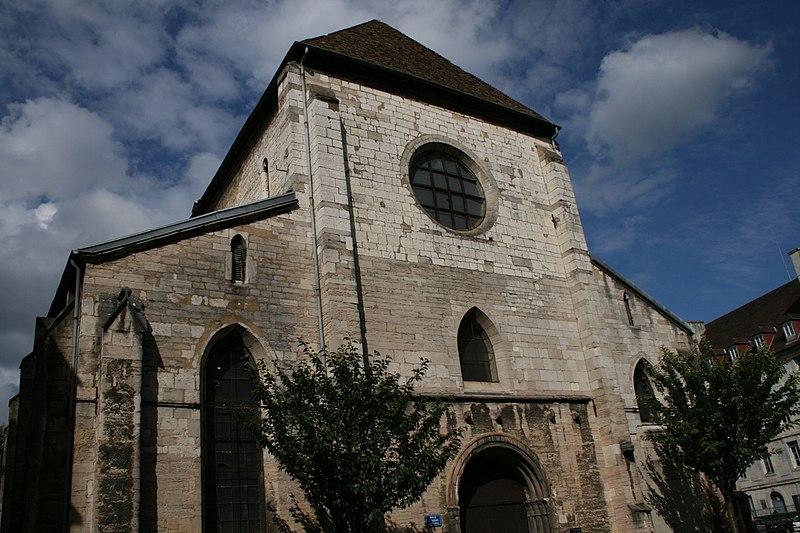 Photo du Monument Historique Abbaye Saint-Paul situé à Besançon