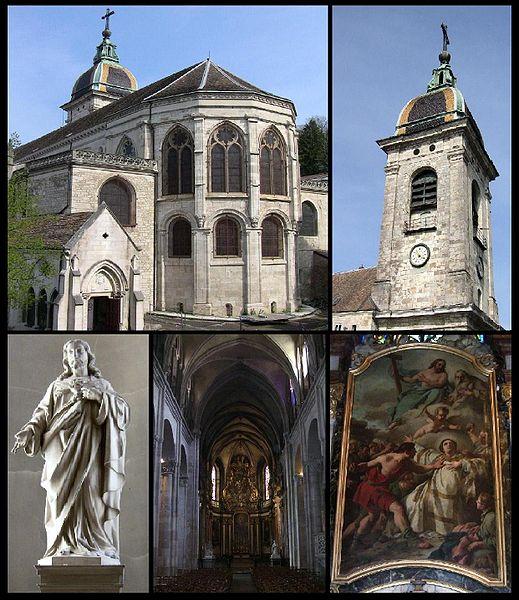 Photo du Monument Historique Cathédrale Saint-Jean et Saint-Etienne situé à Besançon