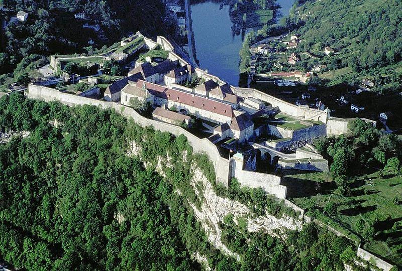 Photo du Monument Historique Citadelle situé à Besançon