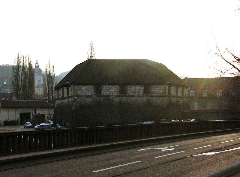 Photo du Monument Historique Colombier militaire ou Bastion Bregille situé à Besançon