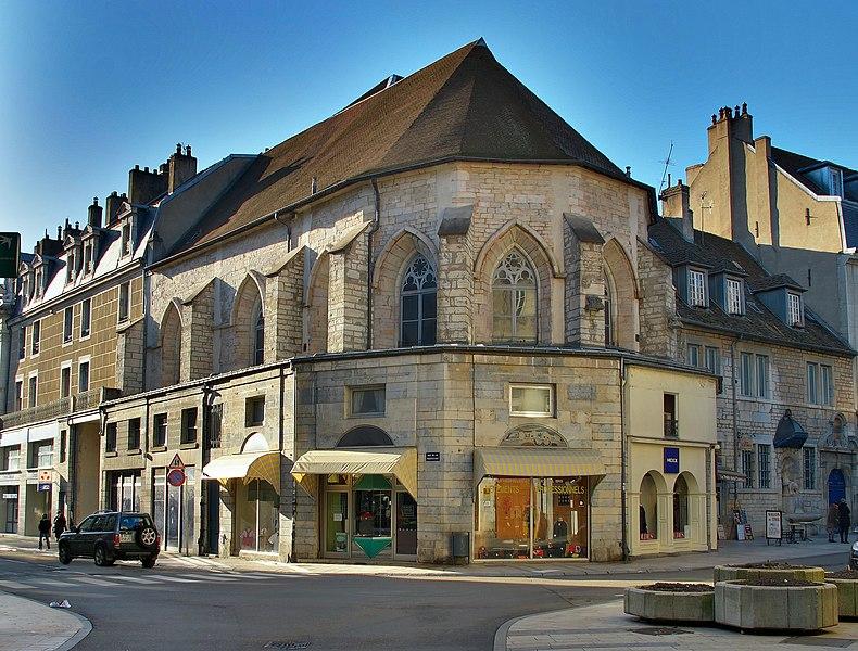 Photo du Monument Historique Eglise des Carmes situé à Besançon
