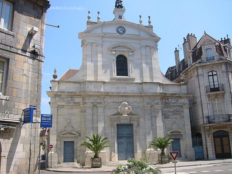 Photo du Monument Historique Eglise Saint-Maurice situé à Besançon