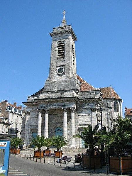 Photo du Monument Historique Eglise Saint-Pierre situé à Besançon