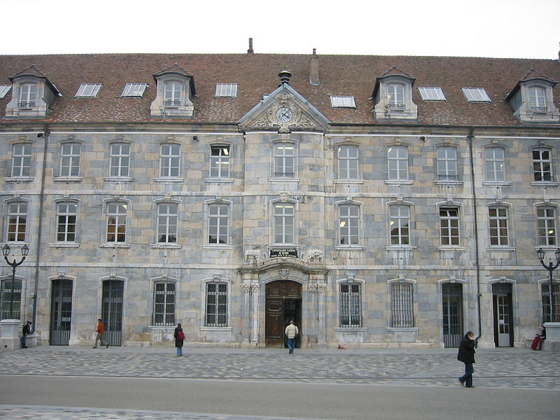 Photo du Monument Historique Grenier de la ville situé à Besançon