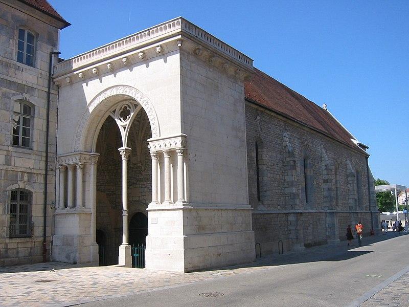 Photo du Monument Historique Ancien Hôpital du Saint-Esprit situé à Besançon