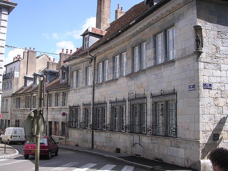 Photo du Monument Historique Hôtel Alvizet ou Alviset situé à Besançon