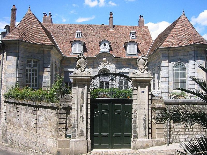 Photo du Monument Historique Ancien Hôtel Boistouset ou Hôtel Dagay situé à Besançon