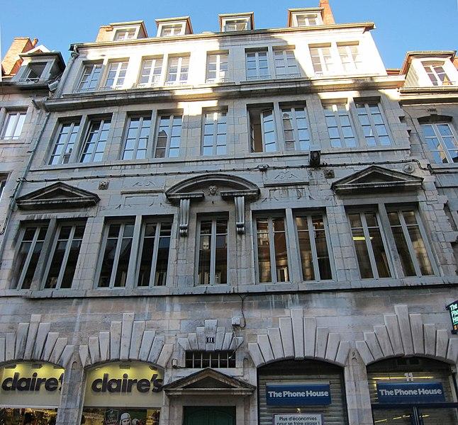 Photo du Monument Historique Hôtel Chevanney situé à Besançon