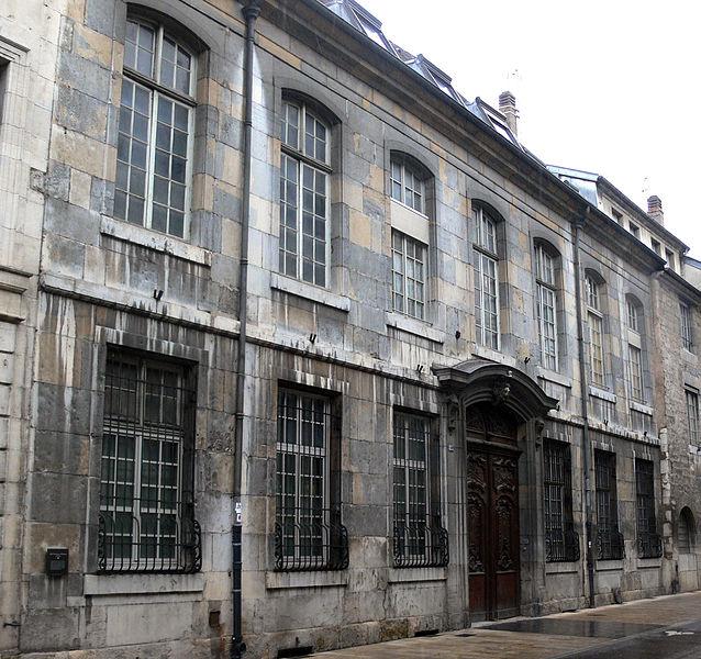 Photo du Monument Historique Hôtel de Clermont situé à Besançon