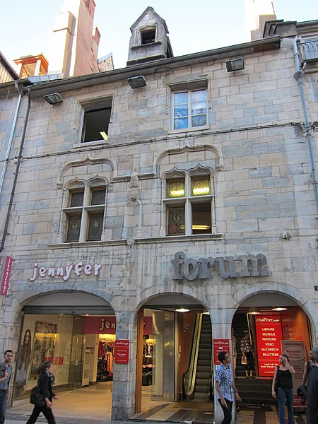 Photo du Monument Historique Ancien hôtel Gauthiot d'Ancier situé à Besançon