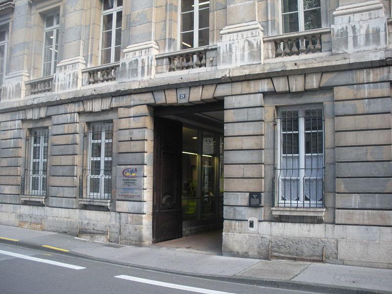 Photo du Monument Historique Hôtel Isabey situé à Besançon