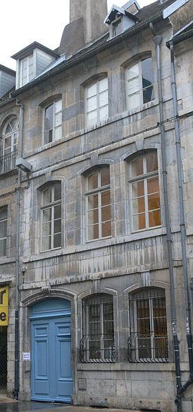 Photo du Monument Historique Hôtel de Ligniville situé à Besançon