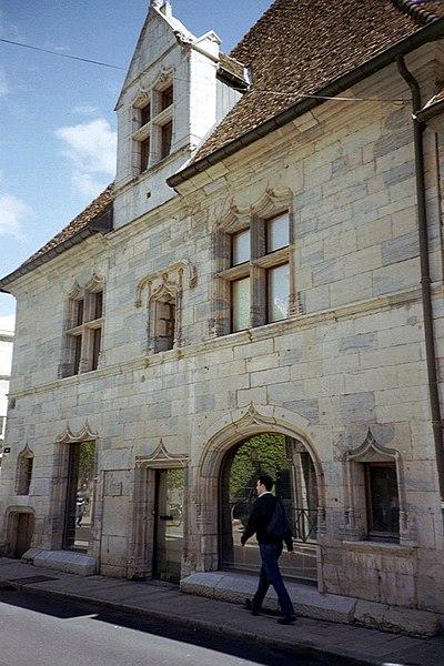 Photo du Monument Historique Hôtel Mareschal situé à Besançon