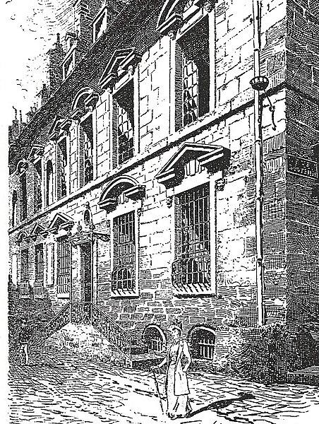 Photo du Monument Historique Hôtel de Montureux situé à Besançon