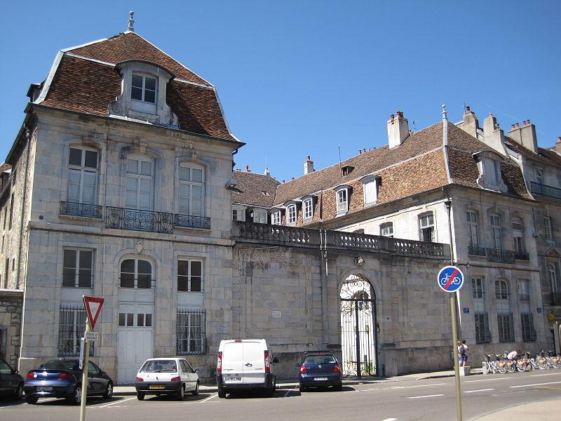 Photo du Monument Historique Hôtel Petit de Marivat situé à Besançon