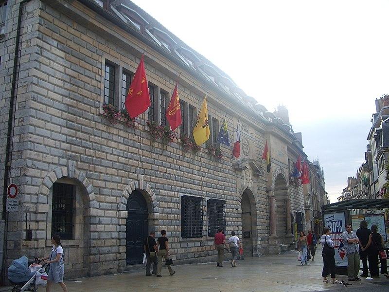 Photo du Monument Historique Hôtel de ville situé à Besançon